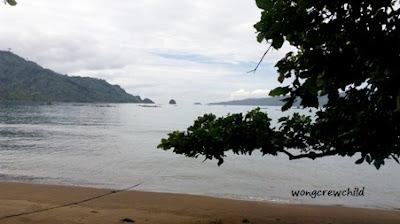 foto panorama pantai asmara trenggalek