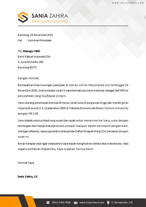 Kop Surat Lamaran Kerja 14