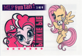 My Little Pony Tattoo Card 5 Equestrian Friends Trading Card