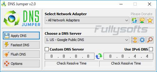 Download Dns Jumper v2.0 Portable Version