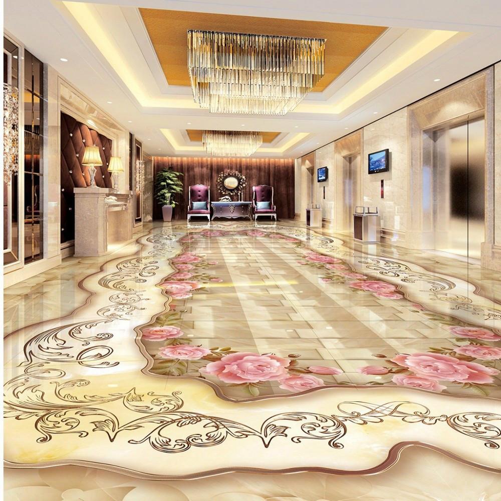 Marble Floor Mural : Top d floor murals wallpaper you have ever seen