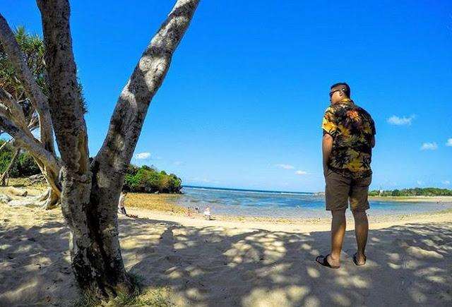 Pesona Keindahan Pulau Nusa Dharma di Kuta Selatan Badung Bali Terbaru