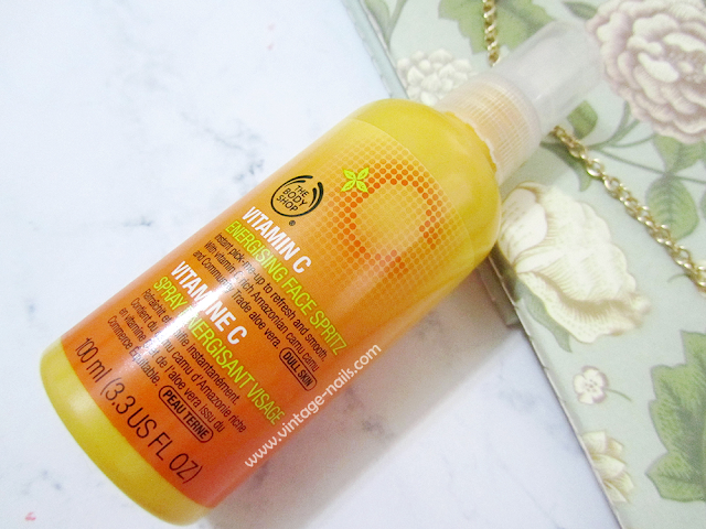 The Body Shop, vitamina c