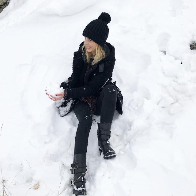 L'hiver au Mont Salève