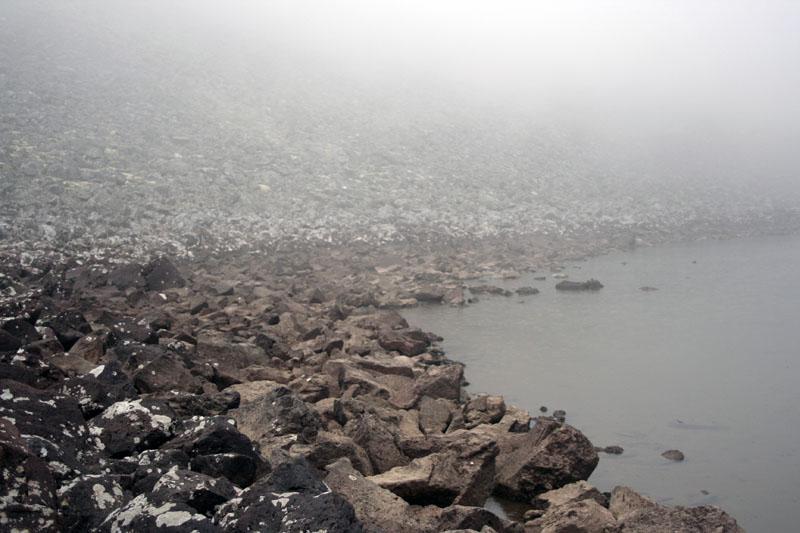 озеро горное камчатка