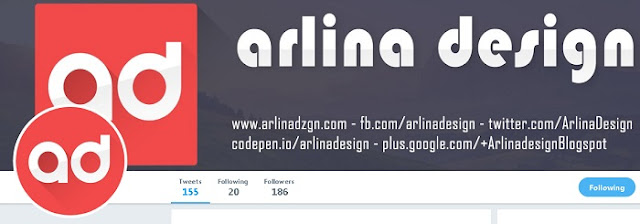 Arlina Design Template - Blog Mas Hendra