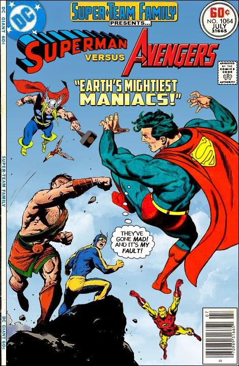 Superman Vs The Avengers