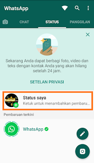 cara membuat story whatsapp video full berdurasi panjang
