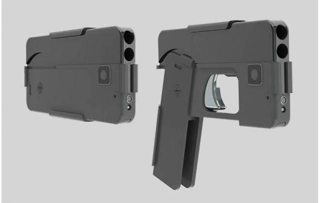 Empresa americana cria arma que se disfarça de smartphone