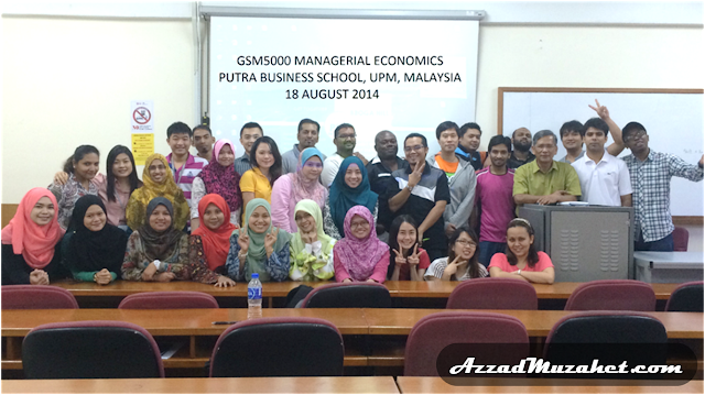 Managerial Economics Putra Business School