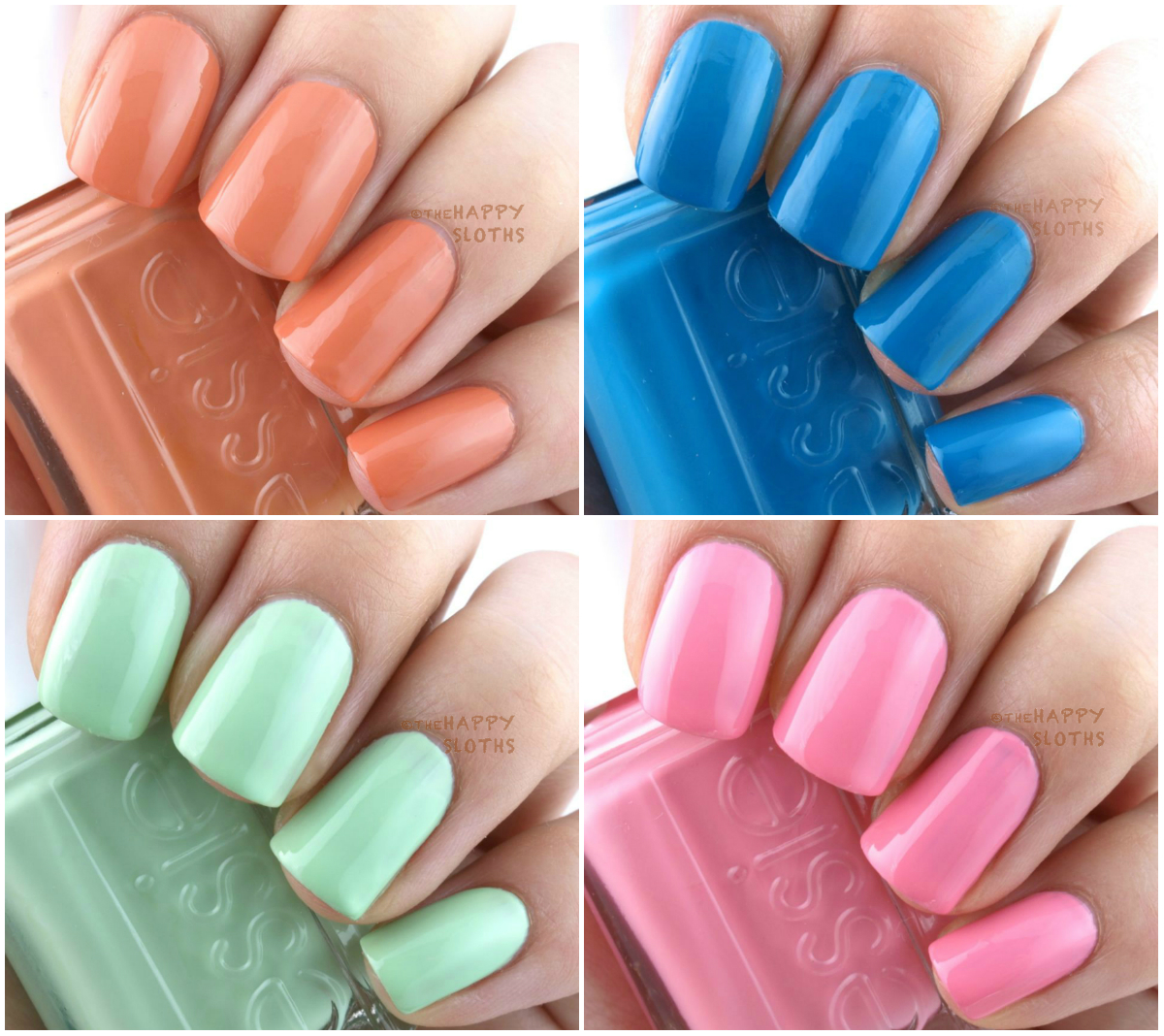 Essie Resort 2016 Collection: Review and Swatches | The Happy Sloths ...
