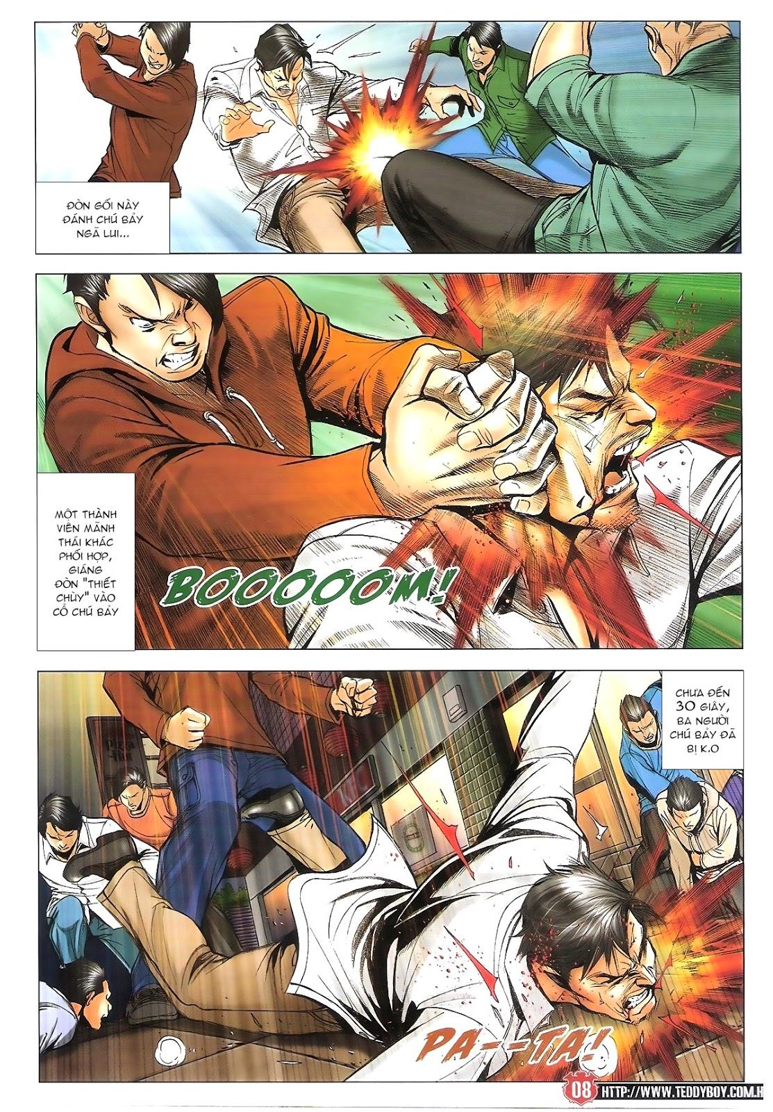 Người Trong Giang Hồ chapter 1696: giết vào vượng giác trang 7