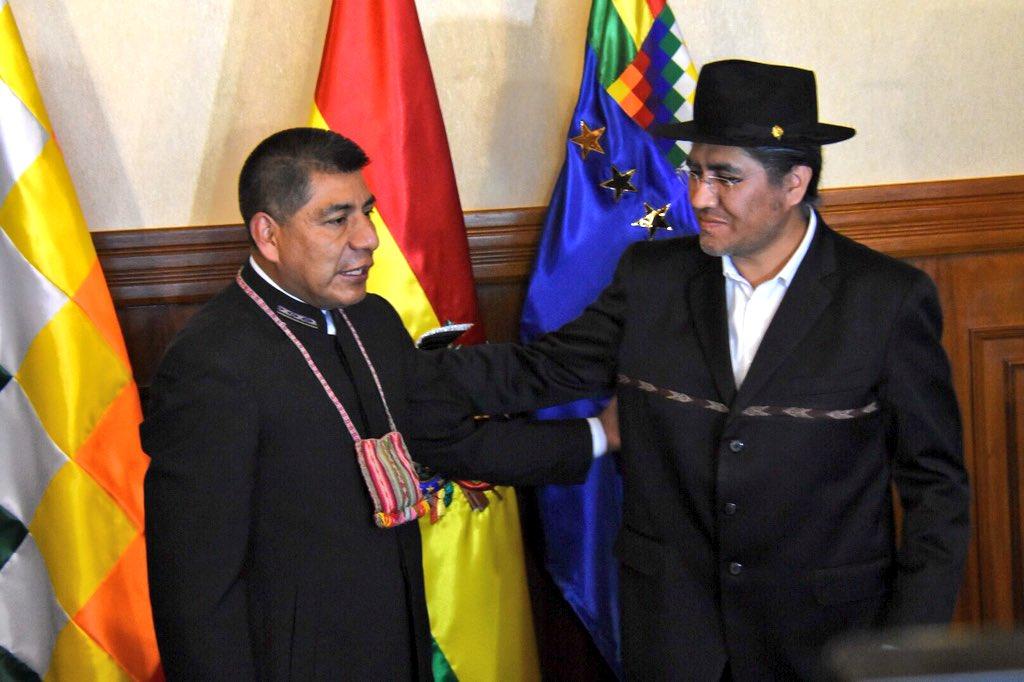 Pary se convierte en el tercer canciller de la era Morales, luego de Choquehuanca y Huanacuni / ABI