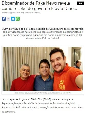 FAKE NEWS E CONTRAINFORMAÇÃO: Duas práticas utilizadas pelos comunistas no Maranhão