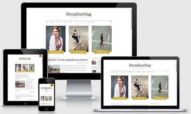 HeradinoMag Blogger Template