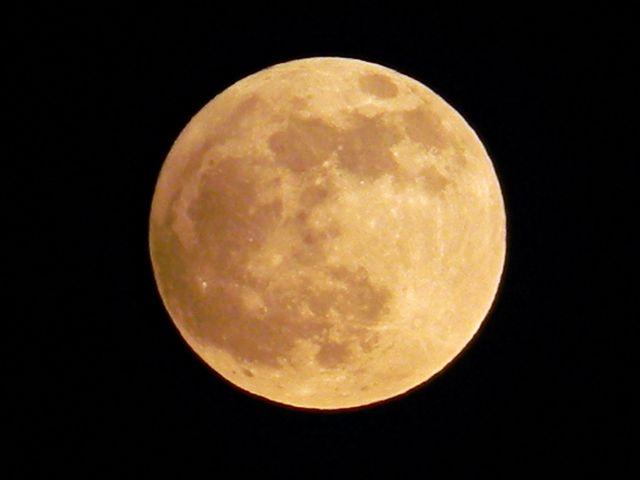 satelita Ziemi, fazy Księżyca, kosmos, niebo