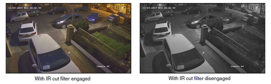 How to fix black and white images in CCTV security cameras