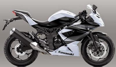 harga motor kawasaki Ninja Mono RR terbaru