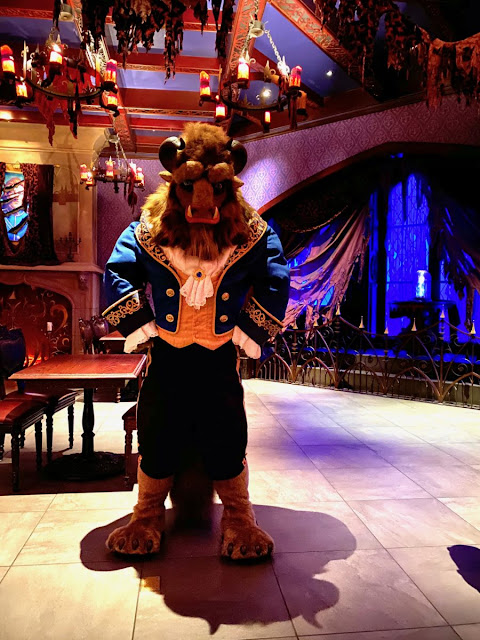 Beast Be Our Guest restaurant New Fantasyland Re-imagined Meet and Greets, Disney Magic Kingdom Reopening Preview
