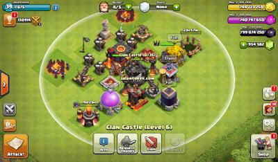 Cara Bermain Clash of Clans Private Server