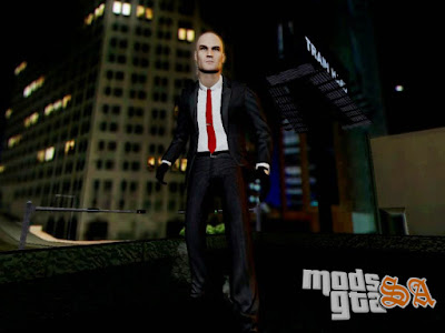 Hitman Absolution Agente 47 para GTA San Andreas