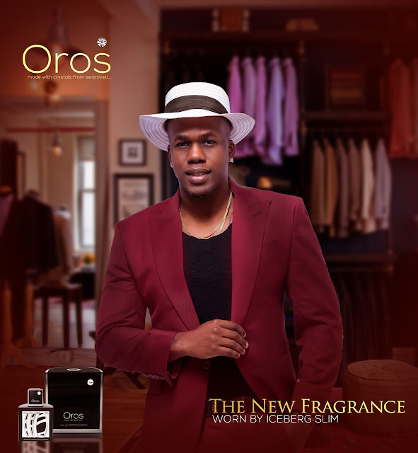 Iceberg Slim and Juliet Ibrahim for Oros perfume