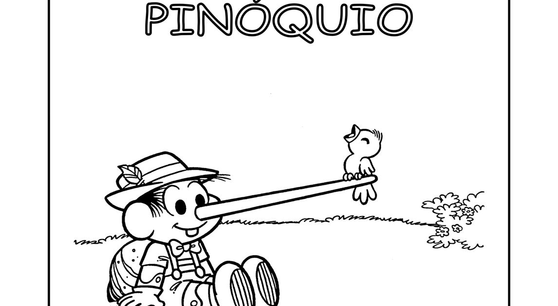 Atividades Prontas Para Imprimir: Pinóquio