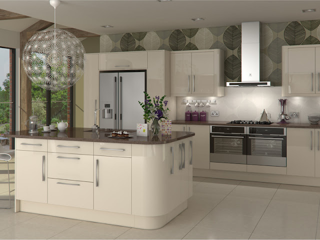 White gloss kitchen style with wooden floors White gloss kitchen style with wooden floors White 2Bgloss 2Bkitchen 2Bstyle 2Bwith 2Bwooden 2Bfloors346