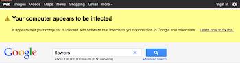 Malware Warnung