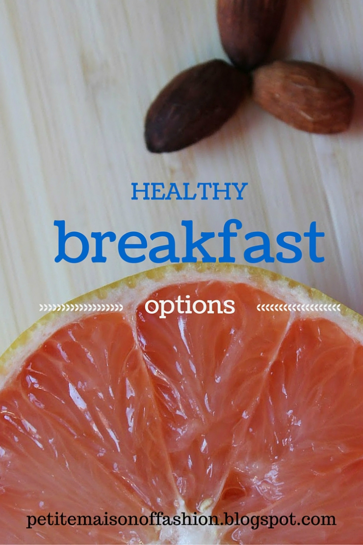 Healthy breakfast options for those who don't have time in the morning