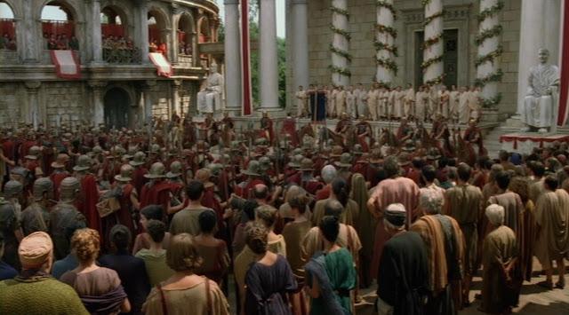 Resultado de imagen para el senado romano en el imperio