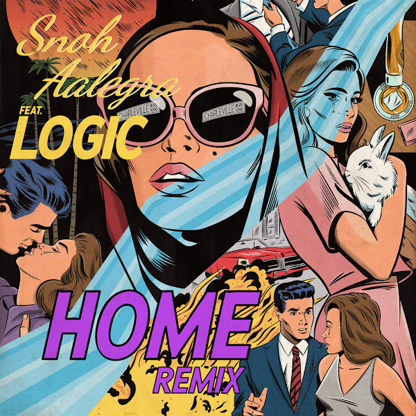 Snoh Aalegra - Home (Remix) [feat. Logic] - Single Cover
