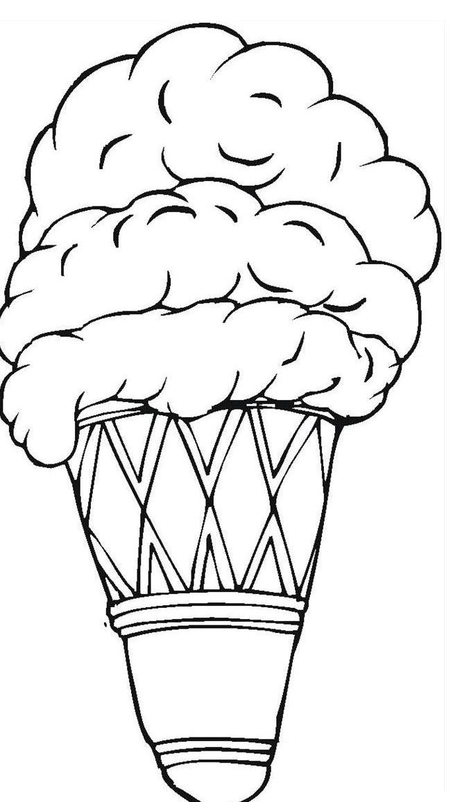 Gorsel Sanatlar Dondurma Boyama Kagitlari
