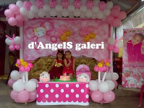 Dekorasi Puade Ulang Tahun Anak Anak 137 D Angels