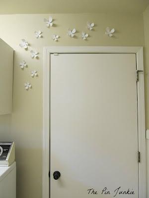 lotus wall flowers