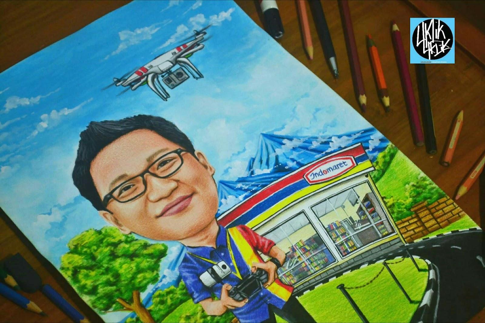 Jasa Karikatur Unik Surabaya Jasa Karikatur Unik Jawa Timur Jasa