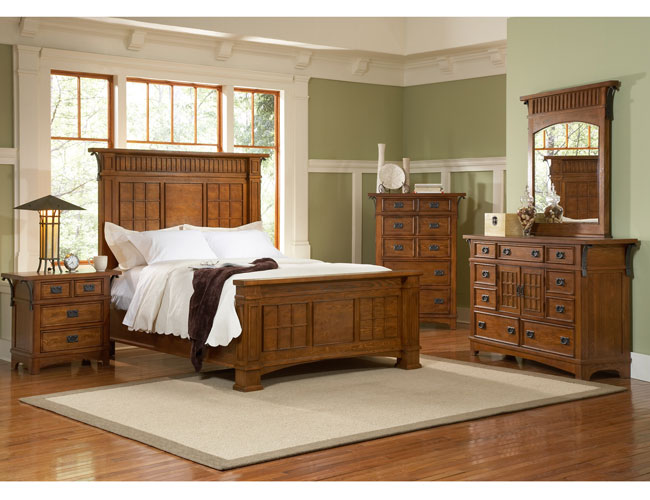 All Wood Bedroom Furniture