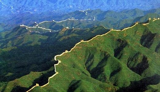 panjang tembok besar china