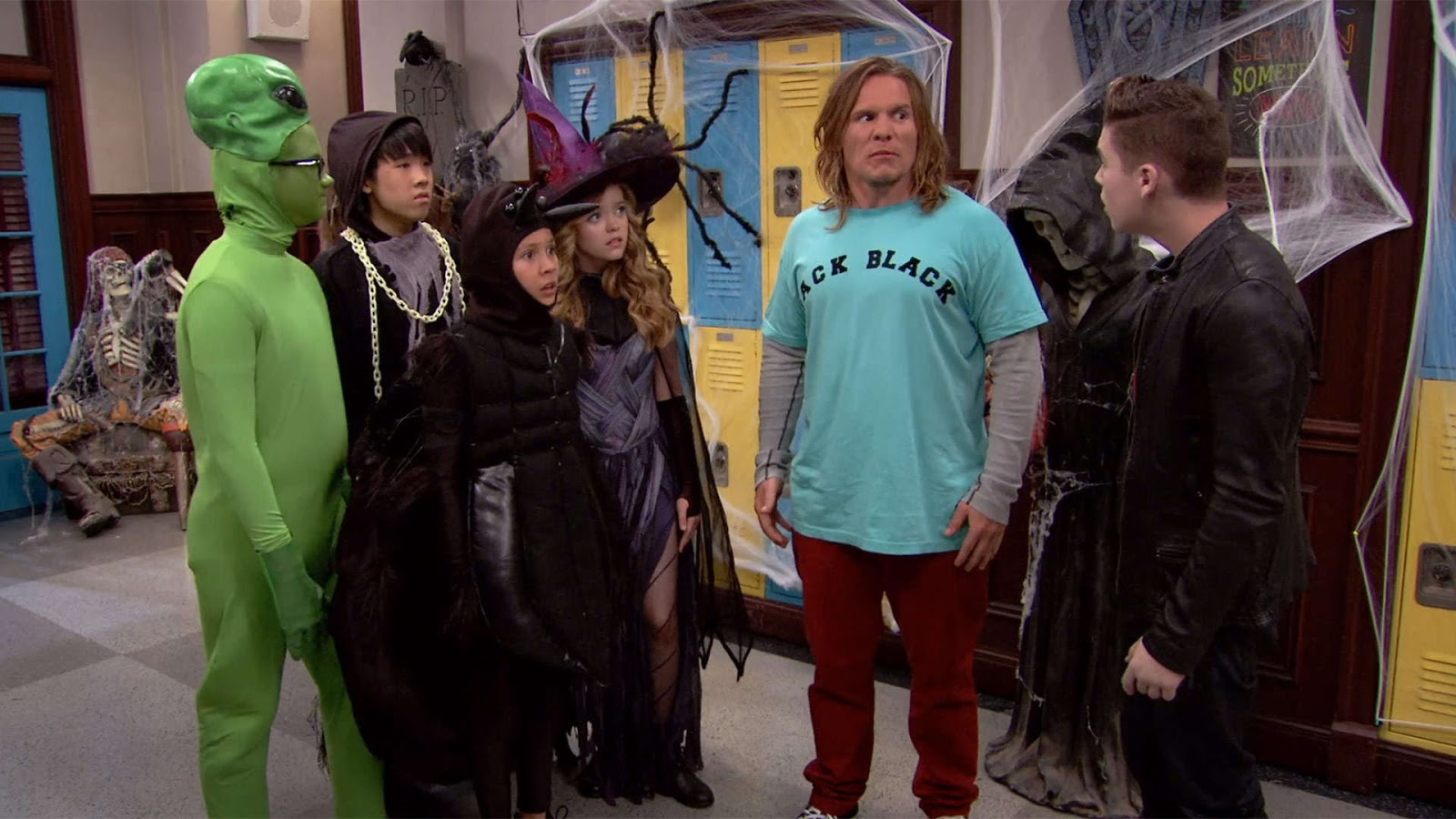 "nickalive!: nickelodeon uk to premiere ""school of rock"" halloween"