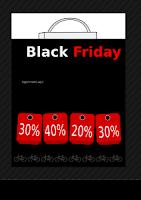 Black Friday kallas USA största rea och utförsäljningsdag.