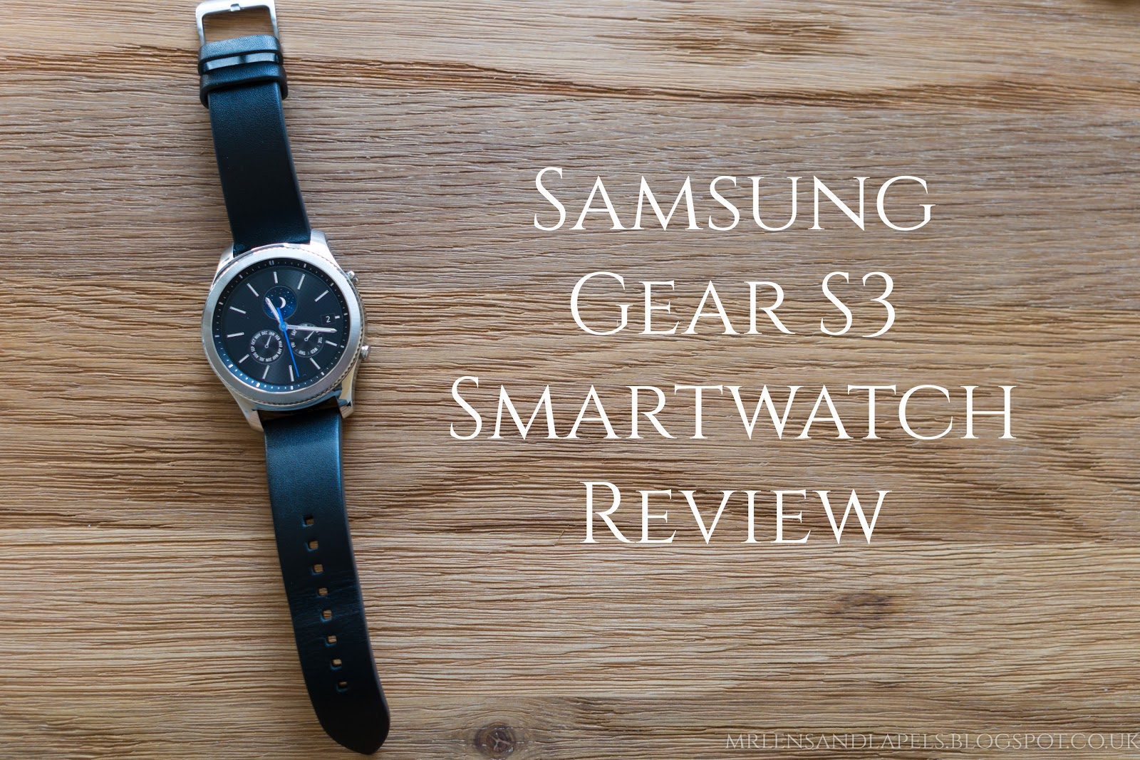 Samsung Gear S3 Smartwatch Review