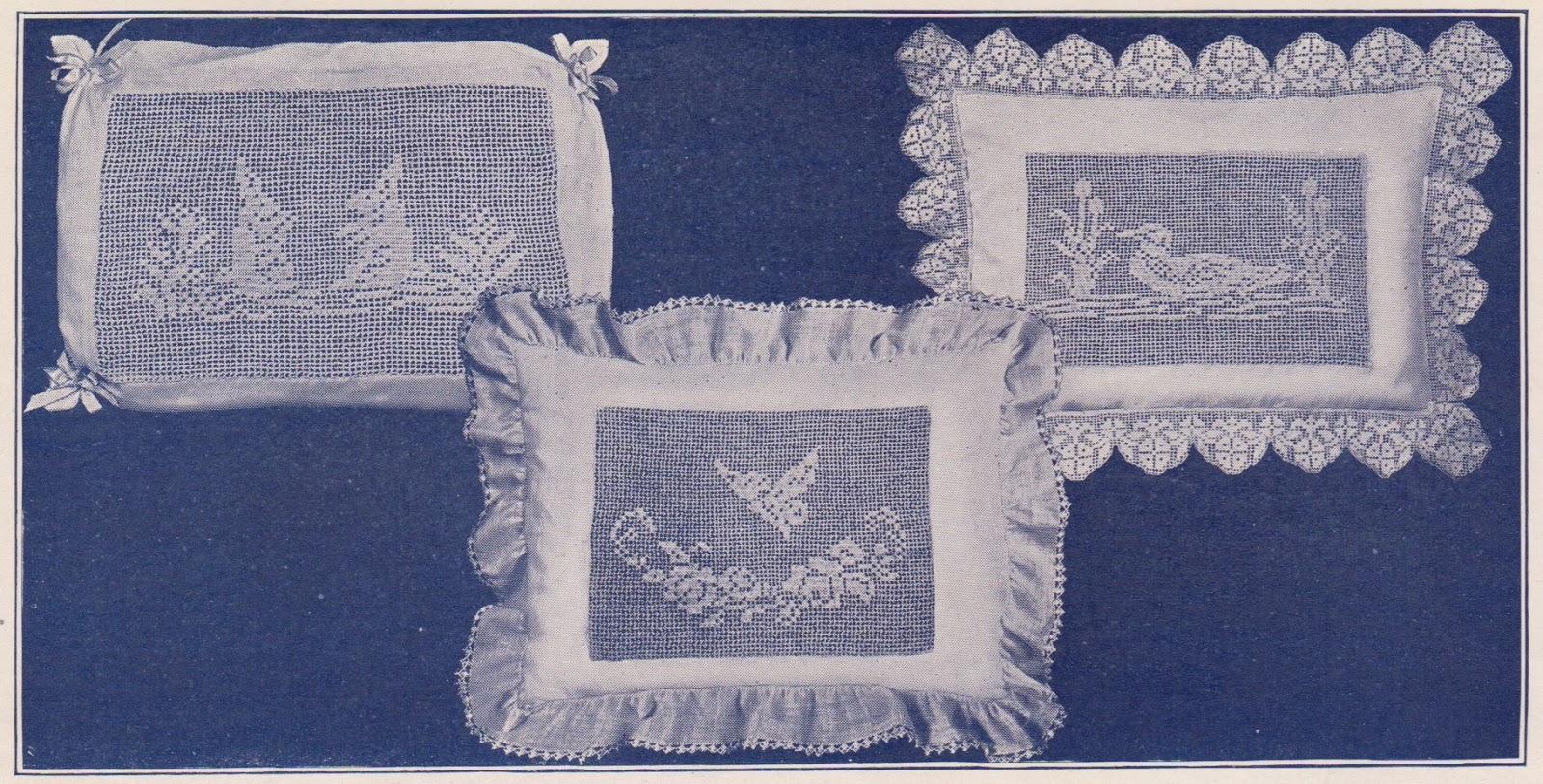 Baby Pillow Chair Modern White Office Chairs Sentimental Three Filet Crochet Patterns