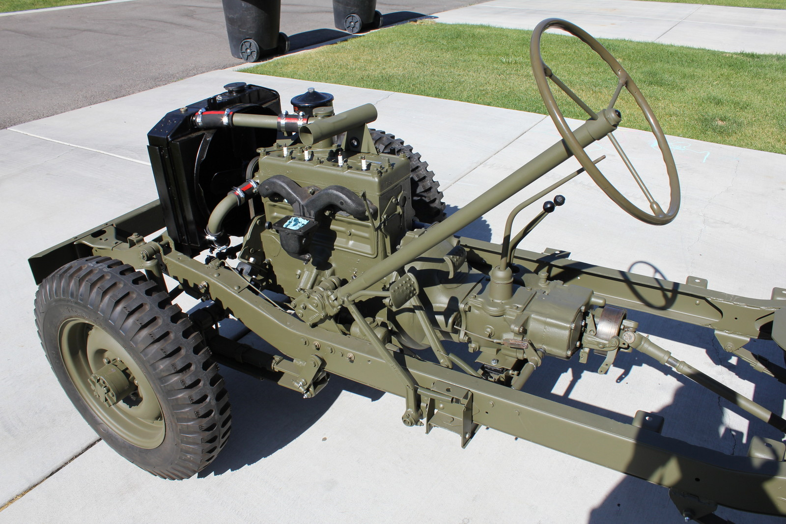 1943 willys mb jeep restoration project engine installed wiring for jeep mb