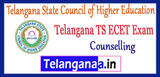 Telangana TS ECET Counselling TSECET 2018 Counselling