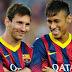Messi y Neymar, las dos caras del talento