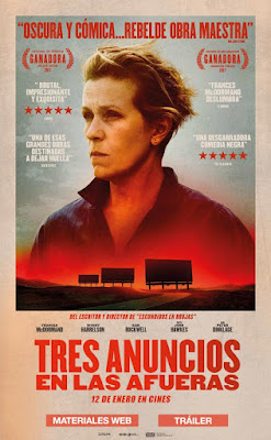 Three Billboards Outside Ebbing, Missouri 2017 DVD R1 NTSC Latino