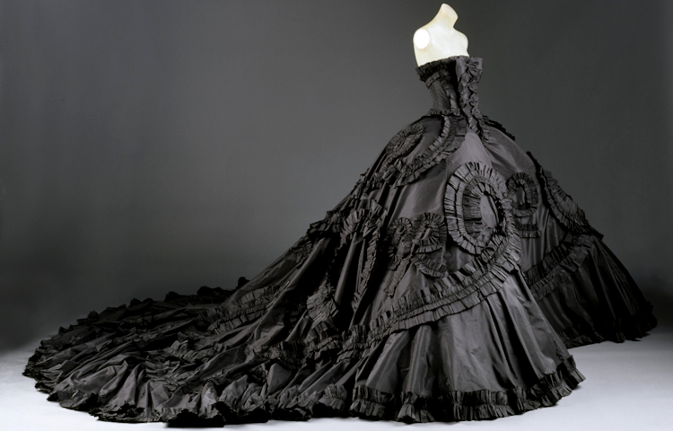 Gods and Foolish Grandeur: Gown by John Galliano for Dior