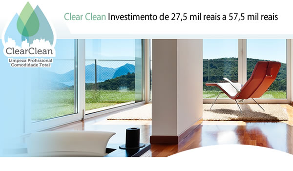 Franquia de Limpeza Clear Clean