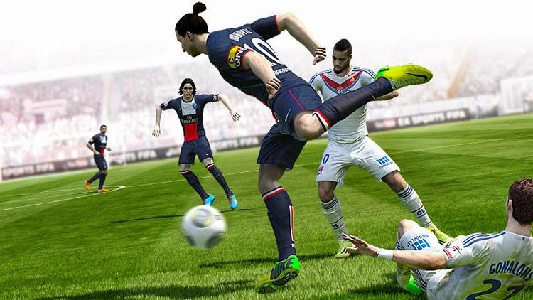 Fifa 15 e PES 2015 nos EUA