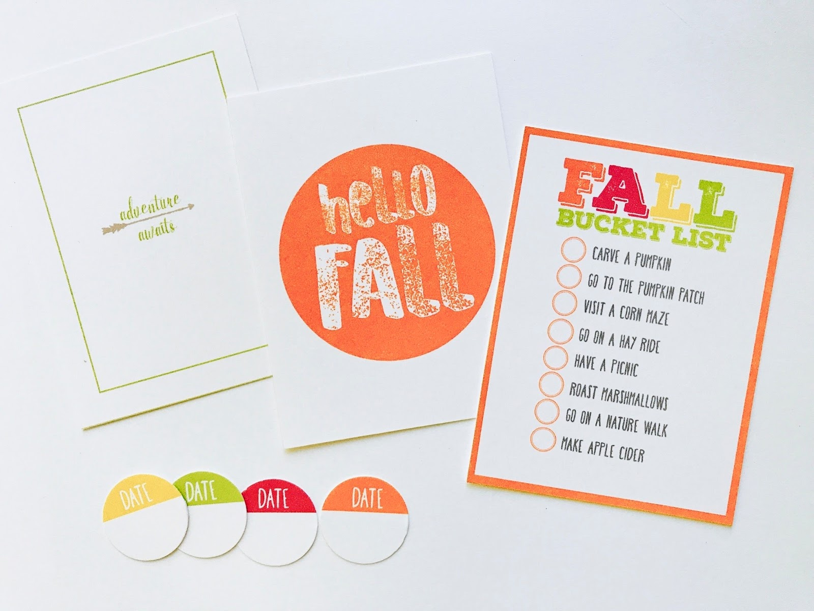 #fall #bucket #list #printable #project #life #hello #fall